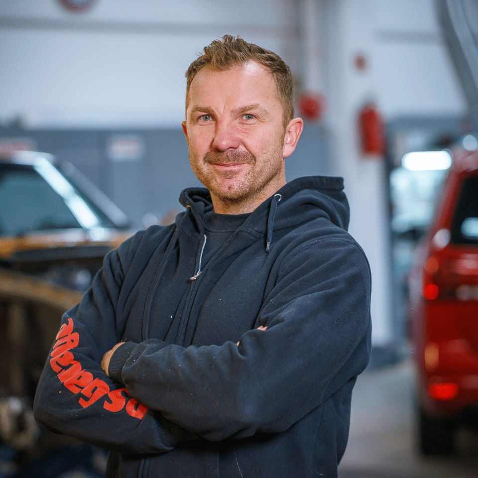 Krzysztof Opaliński - PS Garage